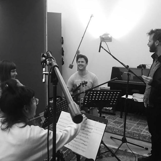 Magnets Siobhan McGinnity Four Hundred Acres Studio Rohan Sforcina Recording Melbourne band