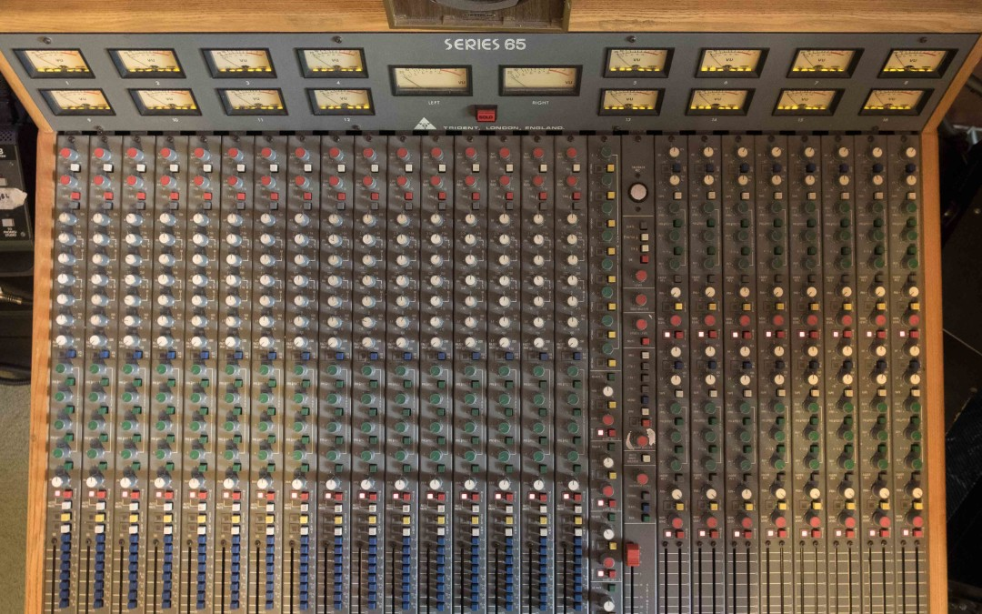 Recording Studio: New Console