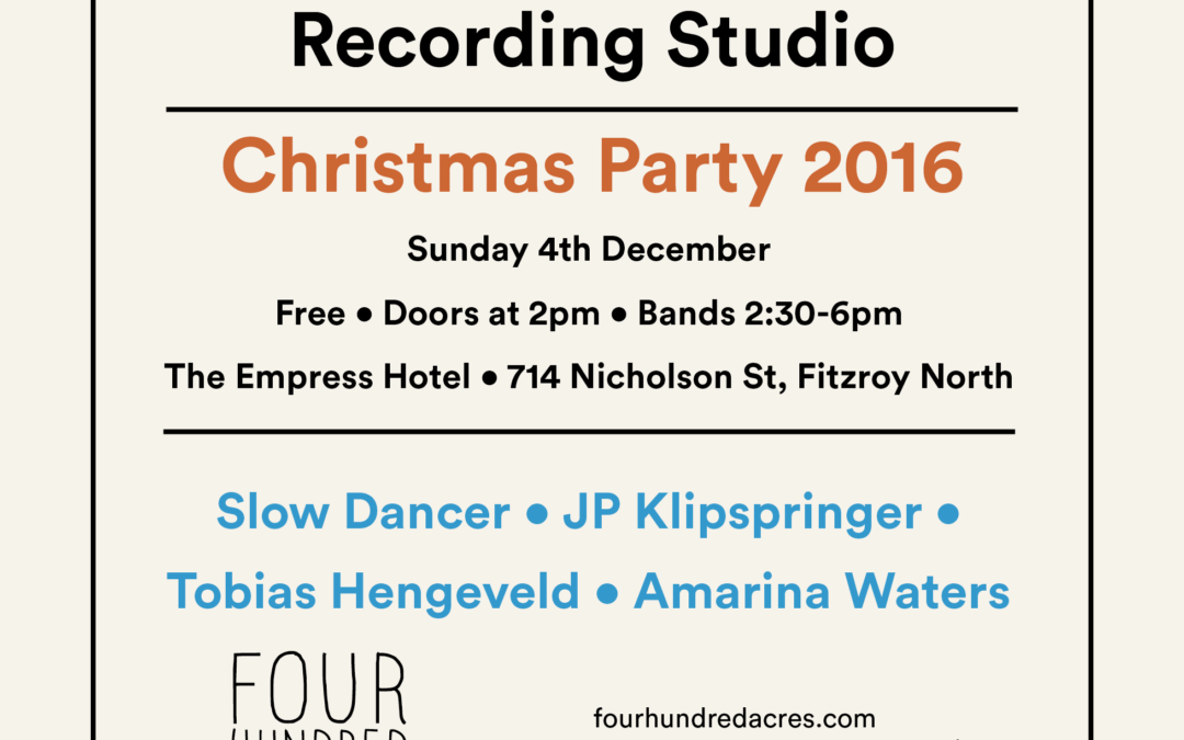 Studio Christmas Party